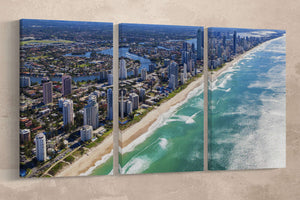 [canvas print] - Australia gold coast