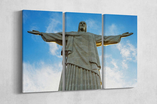 [canvas wall art] - Christ the Redeemer Brazil