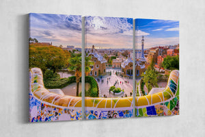 [canvas wall art] - Park Guell