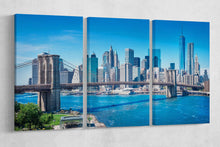 Load image into Gallery viewer, [canvas print] - Brooklyn Bridge