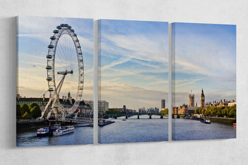 [canvas print] - London home decor