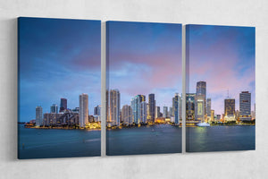 [canvas print] - Miami