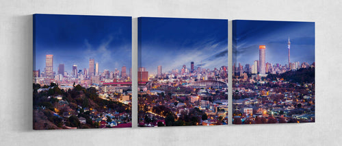 Johannesburg wall art canvas print