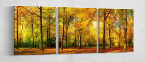 Forest canvas wall art