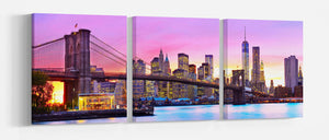 Wall art canvas Brooklyn bridge