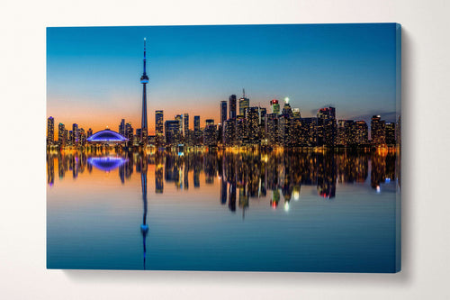 [canvas print] - Toronto skyline