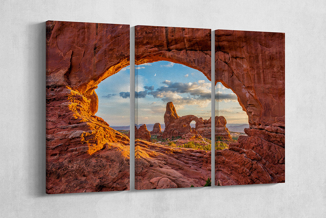 [canvas wall art] - Arches National park