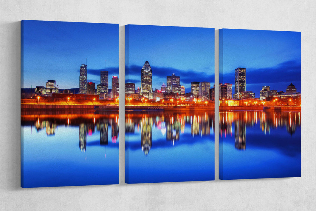 [canvas print] - Montreal skyline