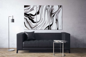 [Modern wall art] Black and white