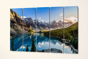 [wall art] - moraine canvas