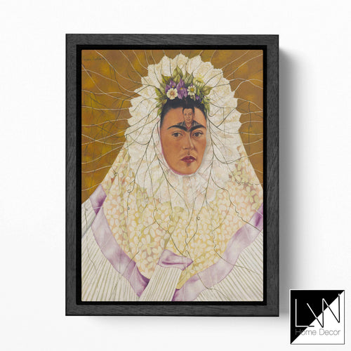 [Canvas wall art] Frida Kahlo Self-Portrait as a Tehuana