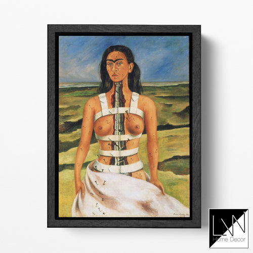[Canvas wall art] Frida Kahlo The Broken Column