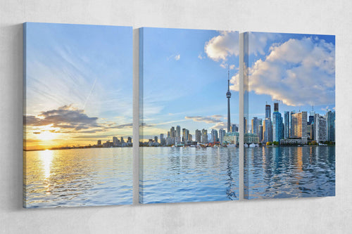 [canvas wall art] - Toronto wall decor print
