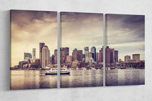 Load image into Gallery viewer, Boston skyline wall art