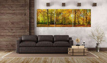 Load image into Gallery viewer, Forest canvas wall art