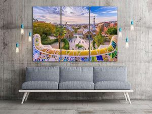 [canvas wall decor] - Park Guell