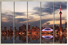 Load image into Gallery viewer, [canvas] - Toronto wall art print