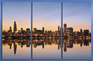 [canvas wall art] - Chicago print