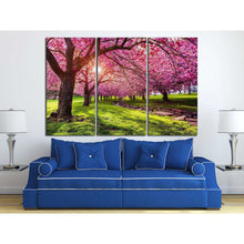 Load image into Gallery viewer, [canvas wall decor] - Cherry Tree Blossom print