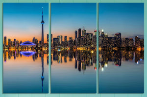 [canvas] - Toronto wall decor
