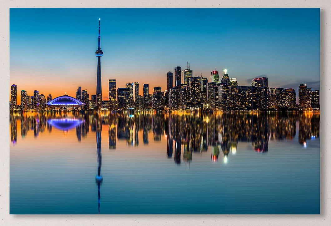 [canvas] - Toronto wall art