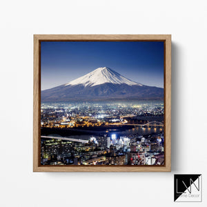 Fuji wall art canvas