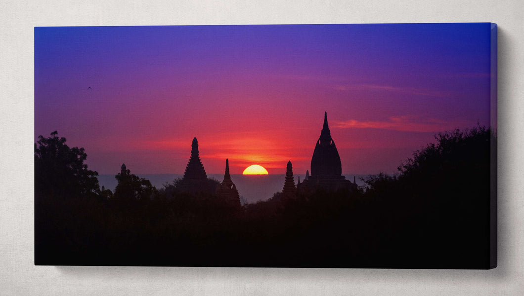 [Canvas print] - Bagan