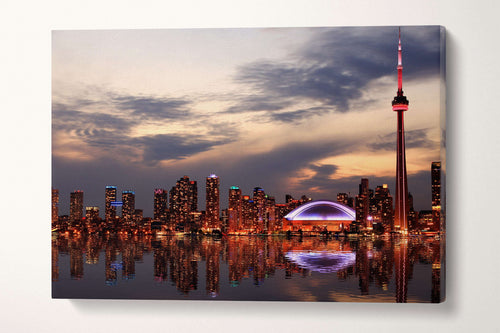 Toronto wall art canvas print