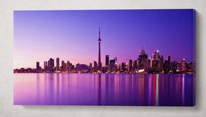 [canvas wall art] - Toronto skyline