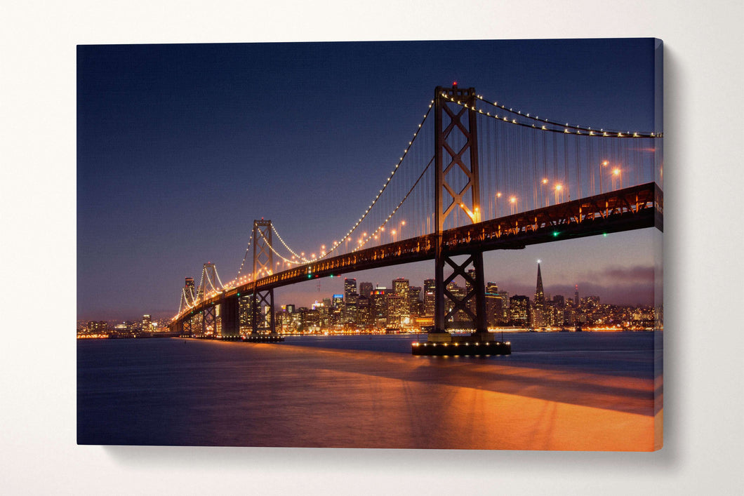 [Wall art] - San Franciso Bay Bridge print