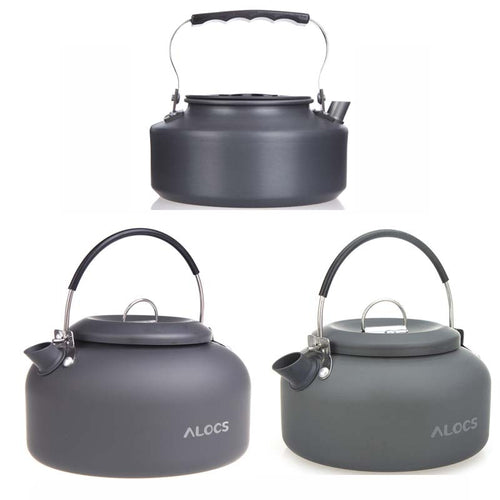 Outdoor Kettle Camping Water, Tea, Coffee Pot 0.8L