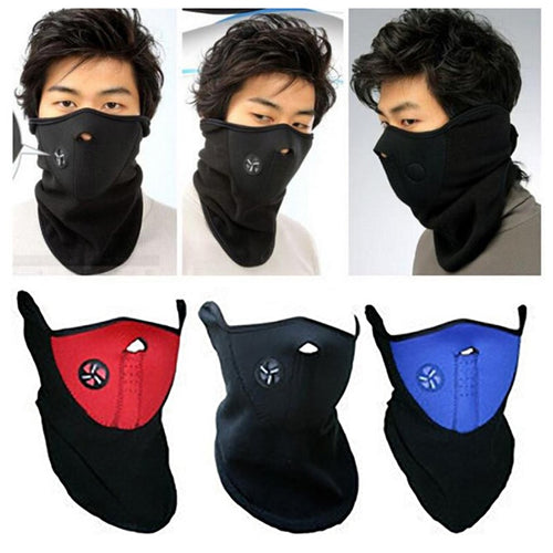 Neck-Face Mask Cycling, Hiking, Skiing, Windproof Mask