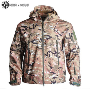 Military Camouflage Tactical Jacket Waterproof & Windproof