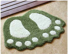 Load image into Gallery viewer, Non-Slip Foot Print Bath Mat