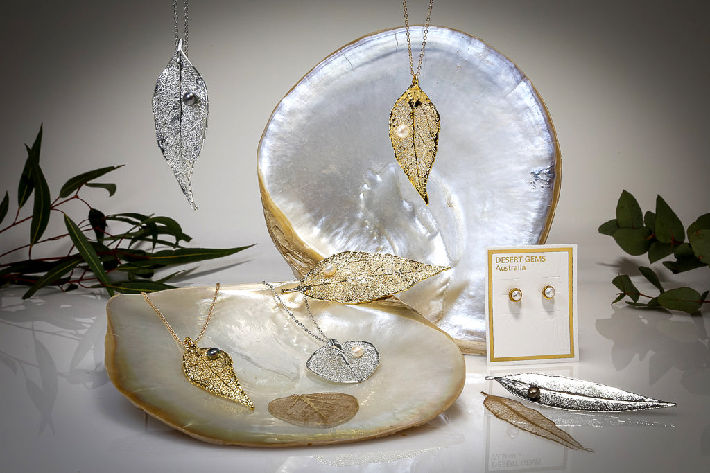 PEARLS on Real Leaf Jewellery