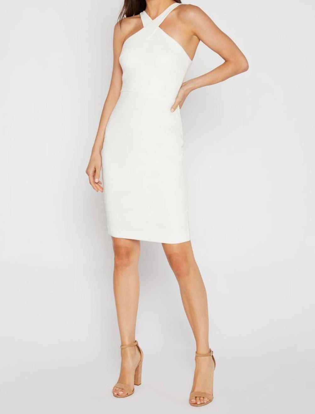 Likely Carolyn Dress White