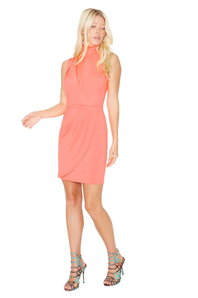 Black Halo Sabina Mini Neon Salmon