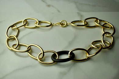 Soko Nene Horn Link Collar Necklace