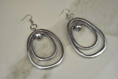 Vestopazzo Circles Ball Earrings
