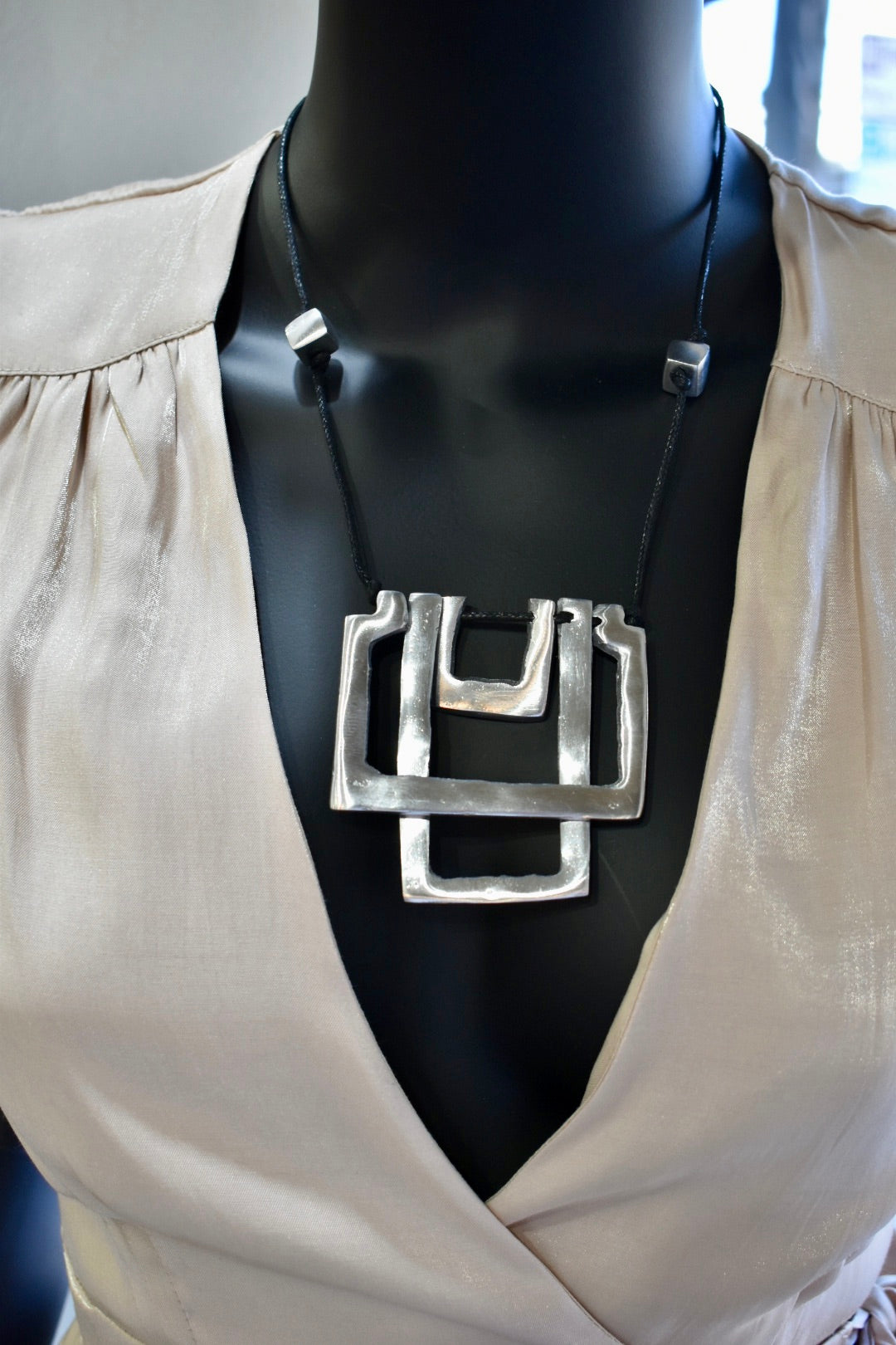 Vestopazzo Element Rectangle Necklace