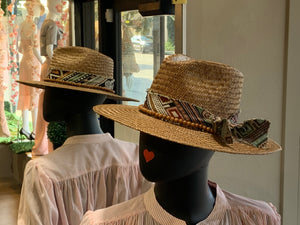 Wyeth Kassia Brown Straw Hat