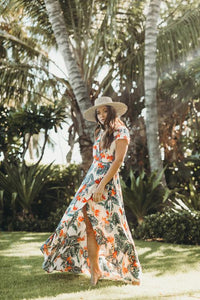 XIX Palms Cozumel Wrap Dress