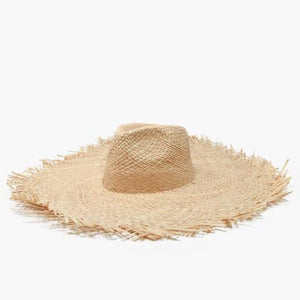 Wyeth Sienna Straw Wide Brim Hat Natural