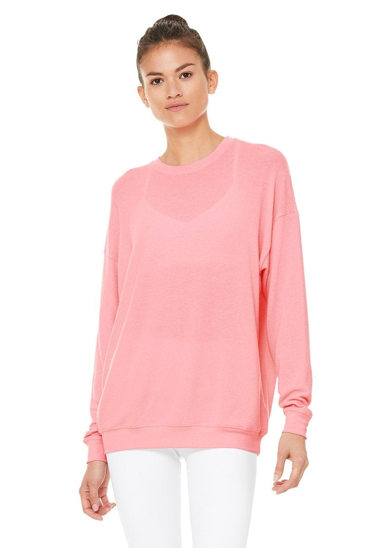 Alo Pullover Macaron Pink
