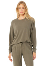Load image into Gallery viewer, Alo Soho Pullover Olive Branch