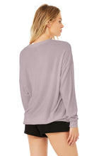 Load image into Gallery viewer, Alo Soho Pullover Lavender Smoke