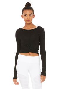 Alo Cover Long Sleeve Top