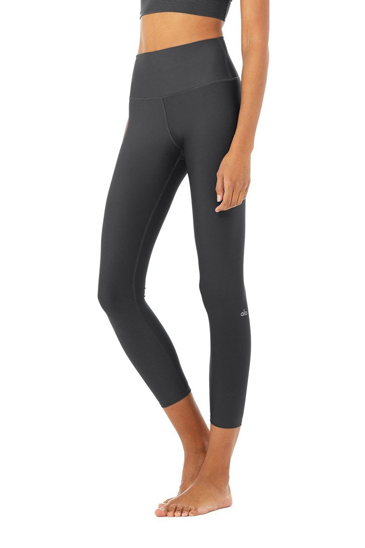 Alo 7/8 High-Waist Airlift Leggings Anthracite