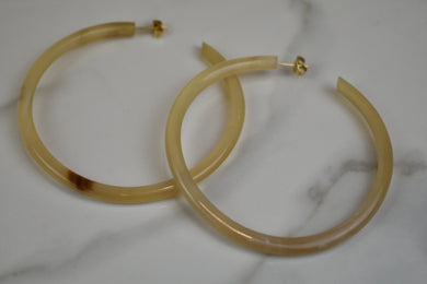 Soko Horn Hoops Large Earrings