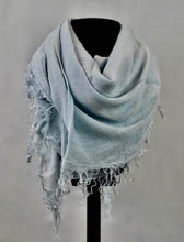 Load image into Gallery viewer, Blue Pacific Tissue Solid Scarf